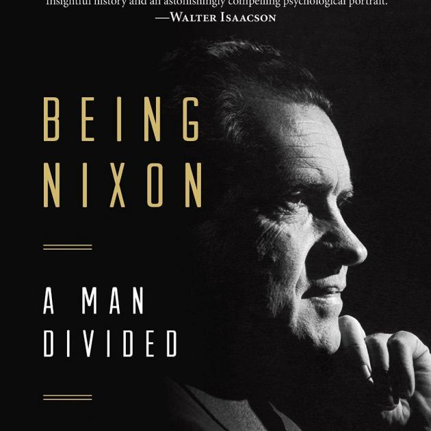 Book cover - Nixon's face