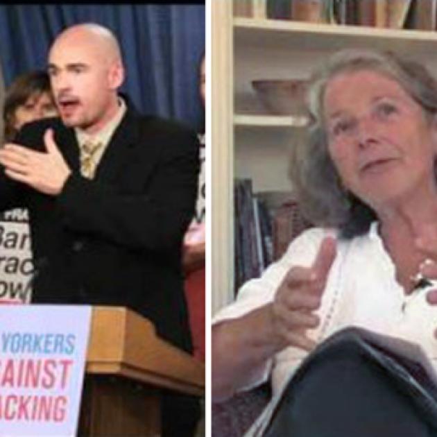 long-time anti-fracking activist David Braun