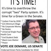 Joe DeMare flyer