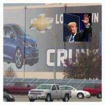 Trump and the Lordstown car plant