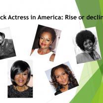 Photos of black actresses