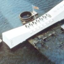 Ship in Pearl Harbor