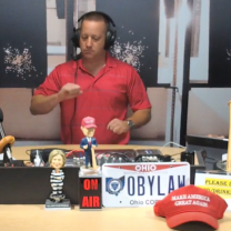 Guy on a radio show