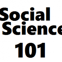 The words Social Science 101